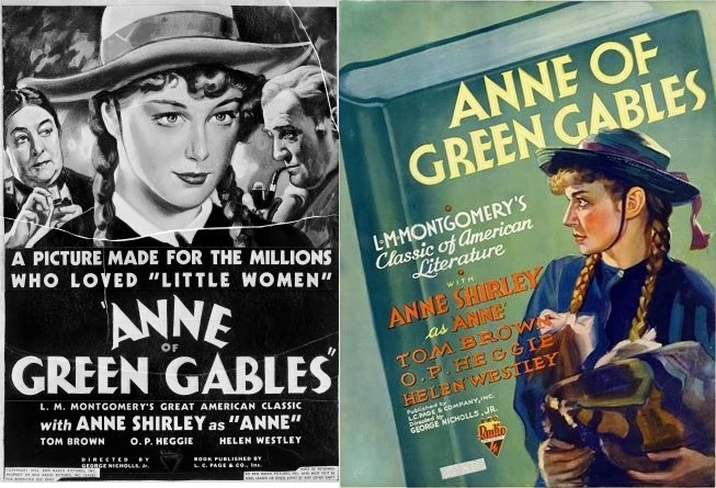 Anne 1934 posters